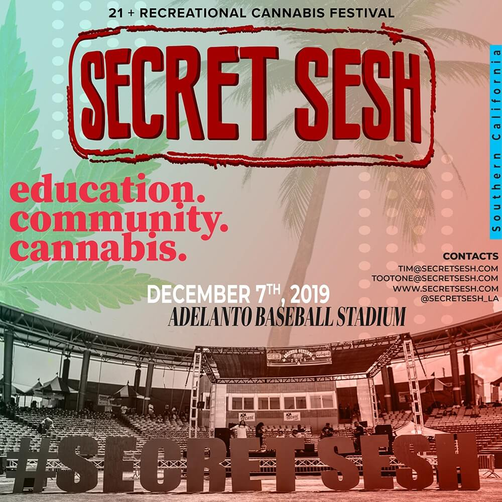 The Secret Sesh Cannabis Festival
